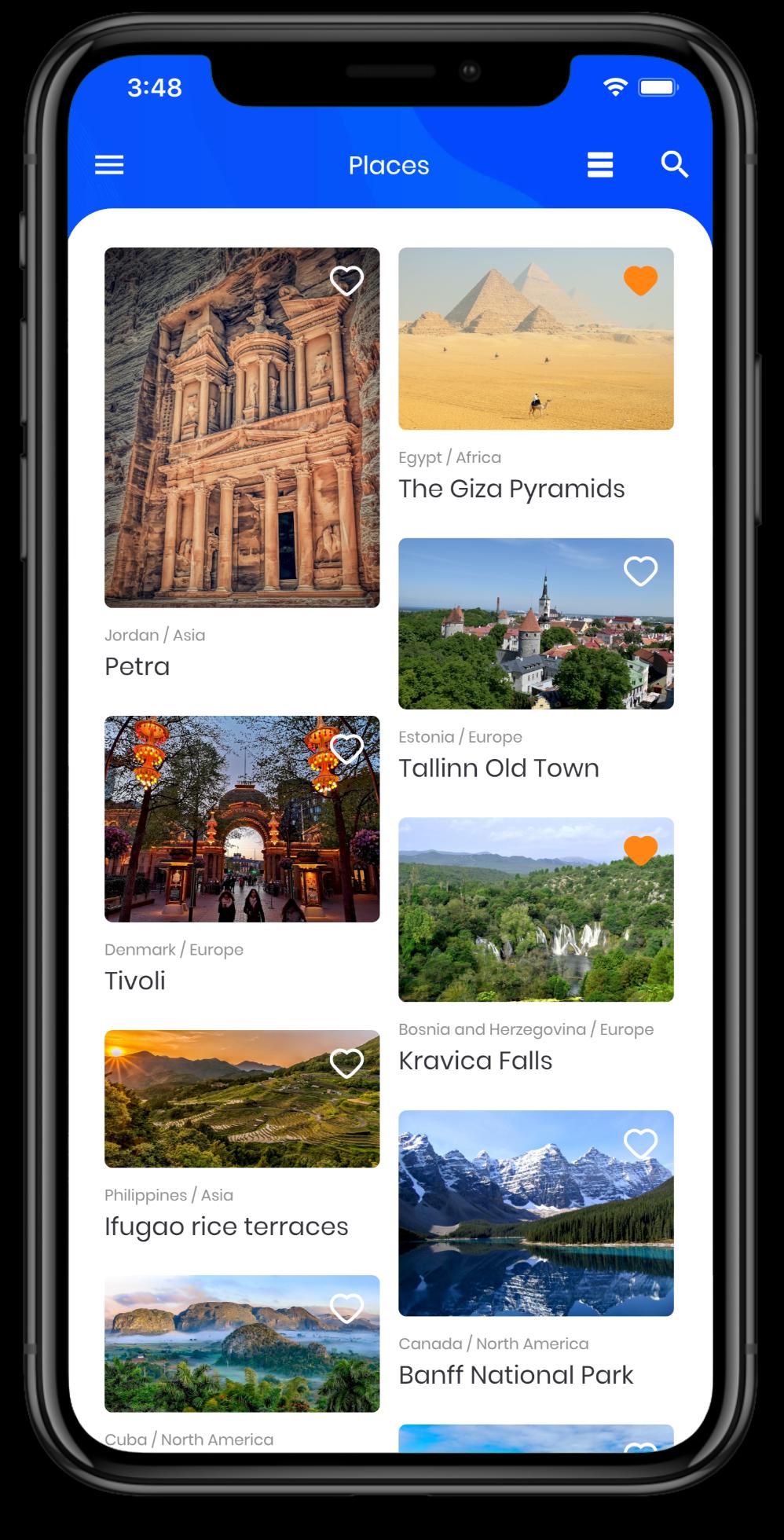 Screenshot on vojaGO on AppStore
