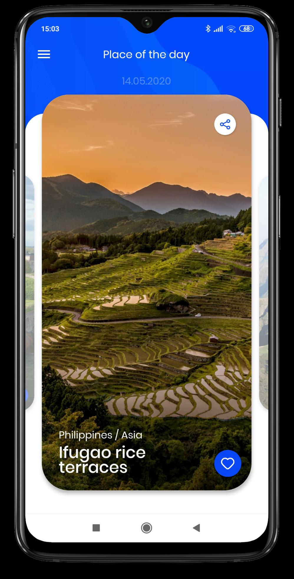 Screenshot from vojaGO on Google Play